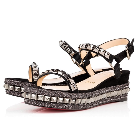 separation shoes 8afd9 994f9 Christian loubotin cataclou 60 suede
